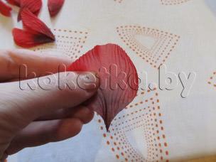 Цветы из ткани. Мастер класс