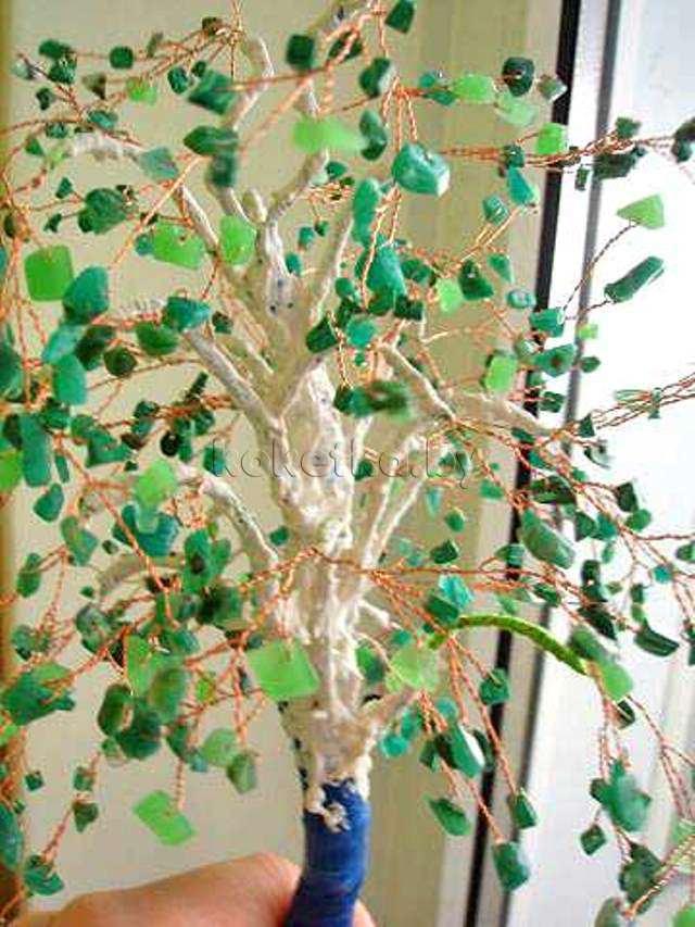 Декоративные деревья мастер класс фото