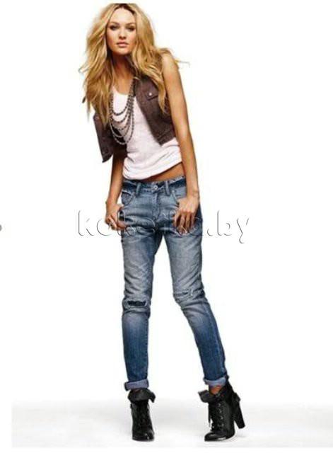 Авторский комментарий Женские модные джинсы.