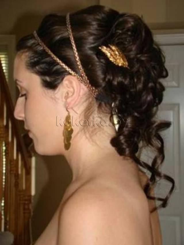прически в египетском стиле на длинные волосы