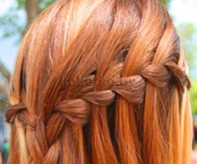 Шаг 5 закрепить косу можно либо у