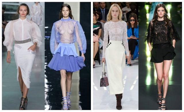 Блузка 2015 Тенденции