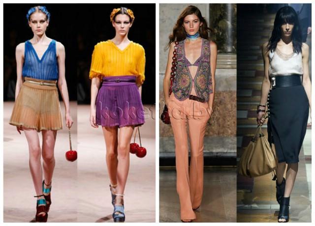 Модные брюки кюлоты на 2018 год: фото женских моделей широких