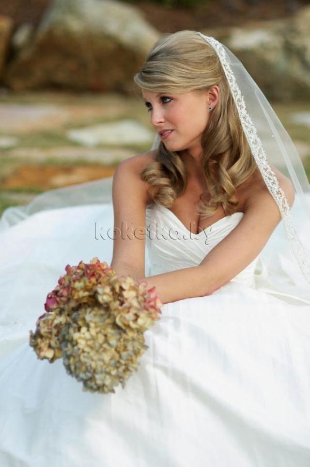 Astonishing Wedding Hairstyles For Medium Hair With Veil Short Hairstyles Gunalazisus