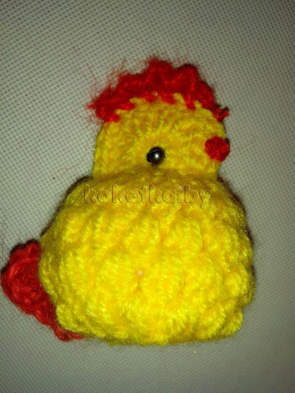 Цыпленок крючком. Мастер класс