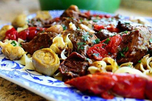 Мясо по итальянски рецепт