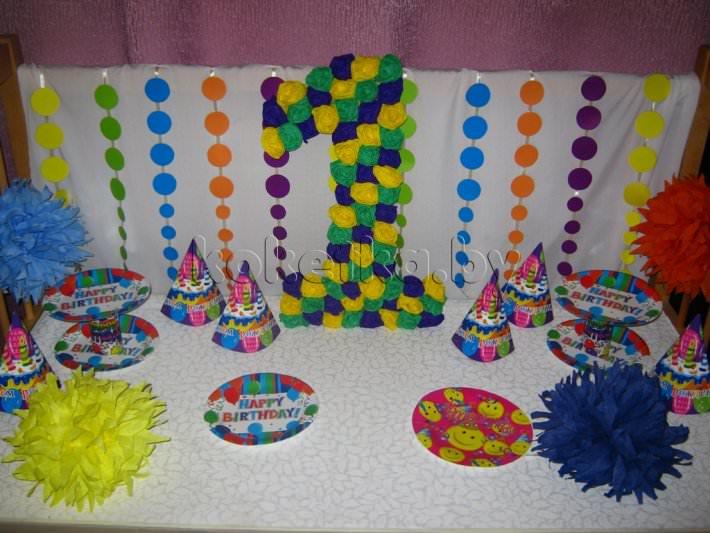 Как украсить комнату на день рождения своими руками ребенку 2 года 88
