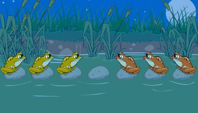 Игра пересади лягушек