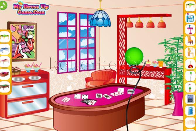 Игра дизайн новой комнаты