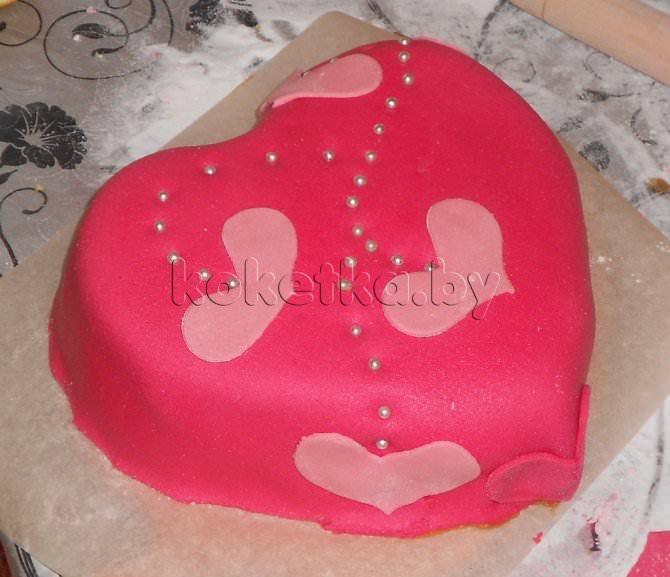 Торт для любимого в фото