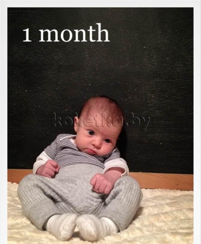 Новорожденный 6 месяц