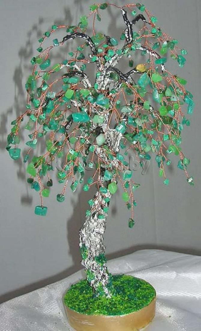 Деревья из камней - Мастер-класс.  Обсуждение на LiveInternet.