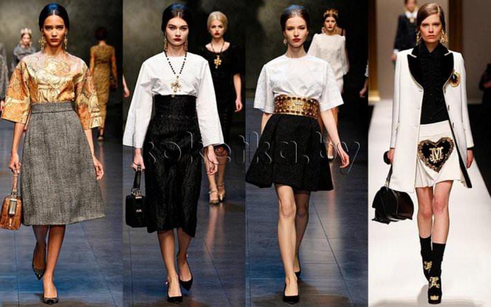 4efd905cd8a Модные юбки осень - зима 2014-2015