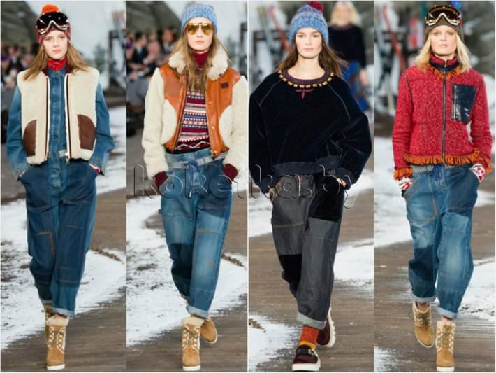 Модные Джинсы Зима Осень 2015