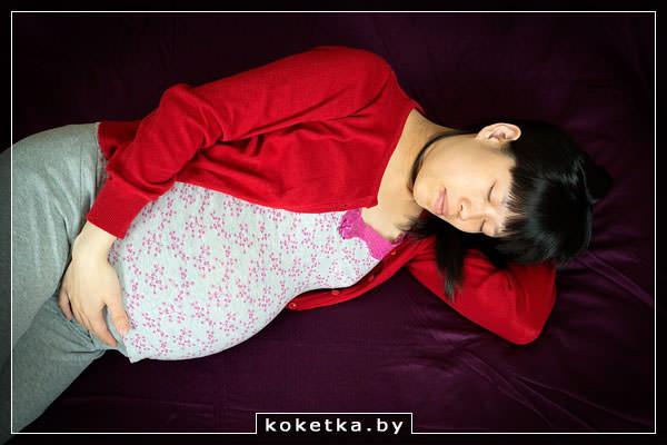 Почему хочется спать в начале беременности