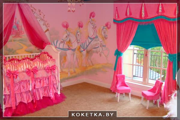 О влиянии цветов на новорождённого розовый