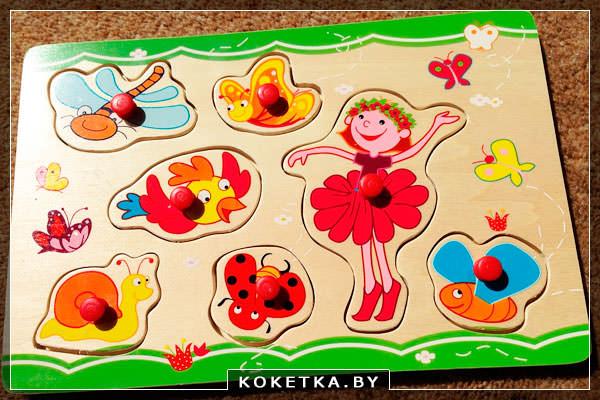 Деревянная игра для ребенка