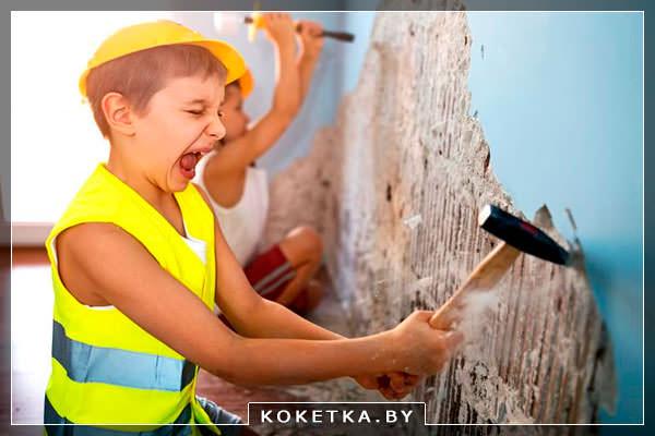 Необходимость выбросить агрессию у ребенка