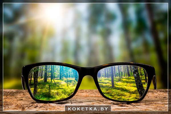 Проявления снижения зрения