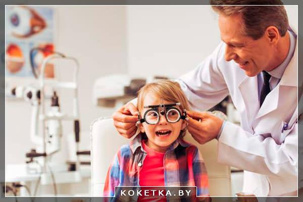 Проявления снижения зрения у ребенка