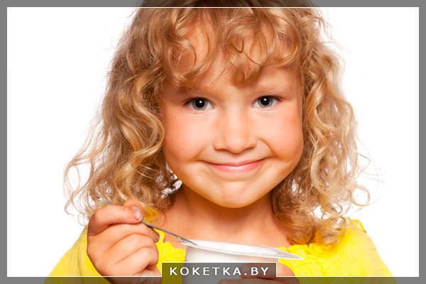 йогурт для роста и здоровья детских зубов