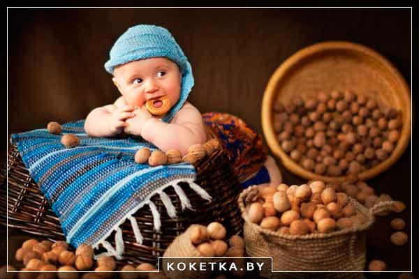орешки для роста и здоровья детских зубов