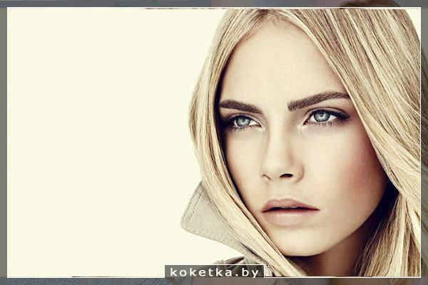 Вечерний макияж для блондинок