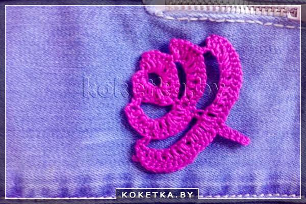 вязание цветов крючком мастер класс сайт для девушек