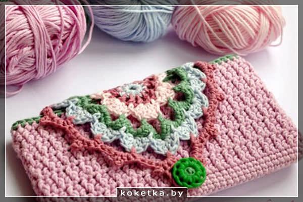чехол для телефона вязание крючком сайт для девушек