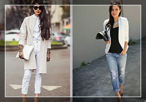 Белая одежда на каждый день фото