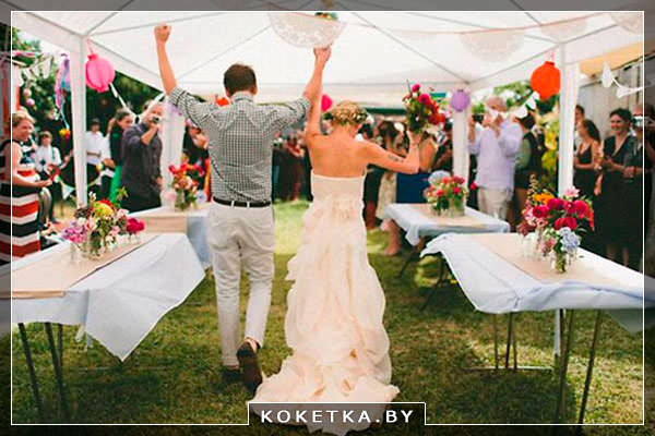 Выездная регистрация брака в шатре