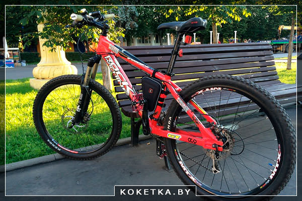Гибридный велосипед – байк
