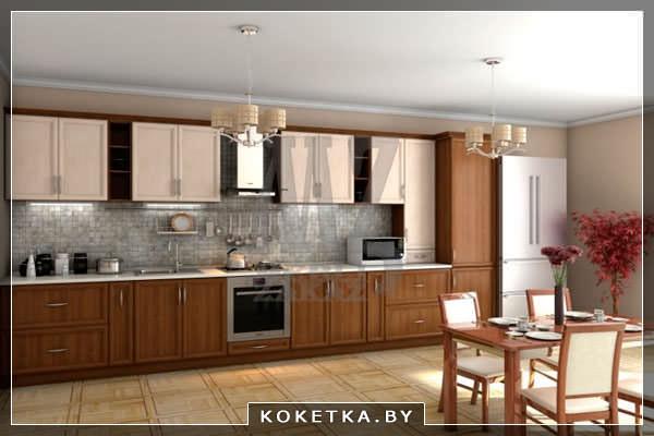 Пример модульной кухни