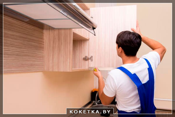 Пример модульной кухни сборка