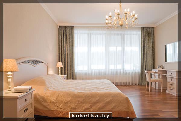 Пастельные цвета спальни в итальянском стиле