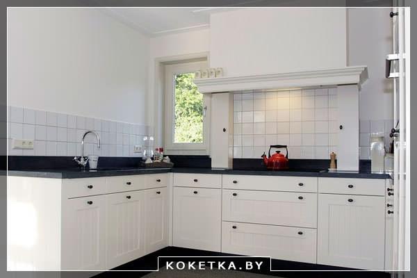 Керамический фартук на кухне