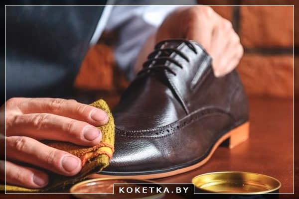 Народные средства по уходу за кожаной обувью