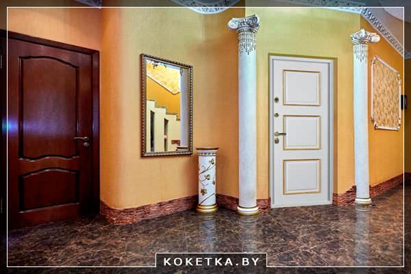 Конструктивные особенности входных дверей