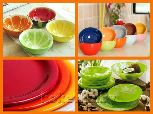 влияние цвета посуды на аппетит человека