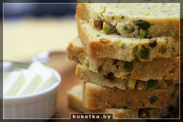 Фисташковый хлеб: рецепт блюда