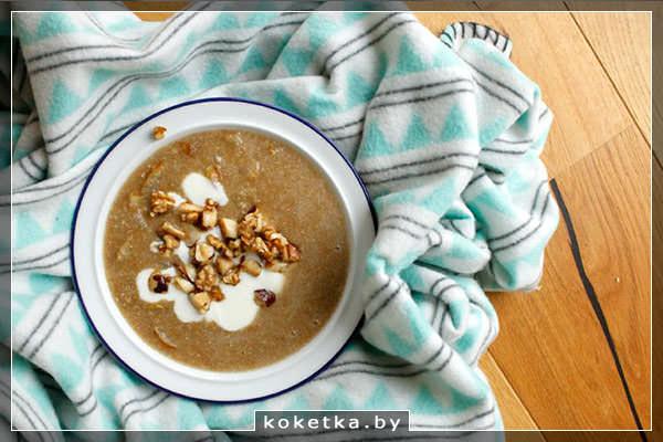 Амарантовая каша - богатый белком завтрак