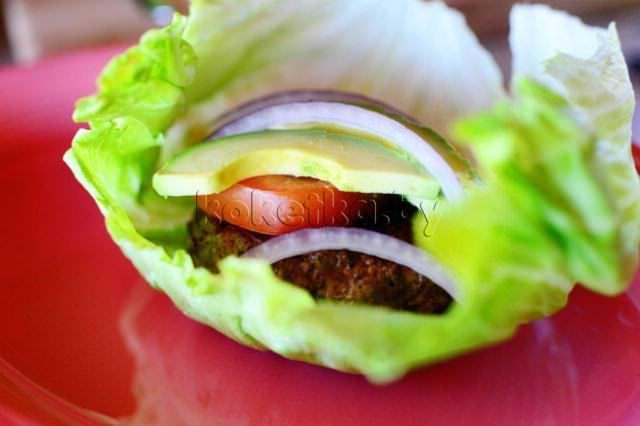 Низкокалорийный бургер