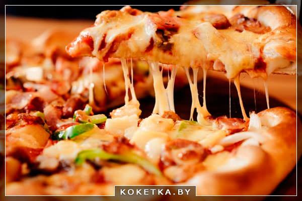 """Домашняя пицца """"Лисичка"""" фото рецепт"""