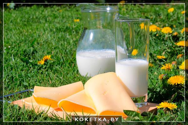 Молочные продукты при диете