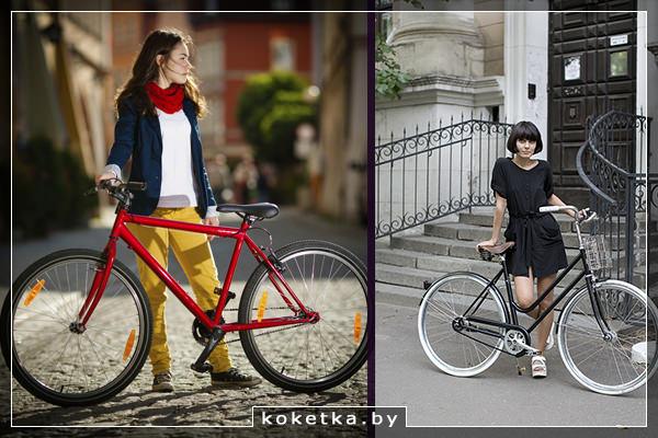 Женский велосипед и его польза