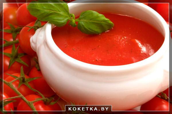 Самостоятельно приготовленный томатный сок